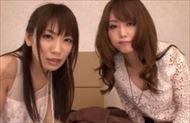 <3P動画>吉沢明歩ほか 激カワでビッチな美女たちにおしゃぶりや足コキ、ベロチューを奉仕してもらい二人まとめてブッカケw